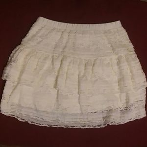 Excellent used condition, sz. 7/8 lace skirt/tutu